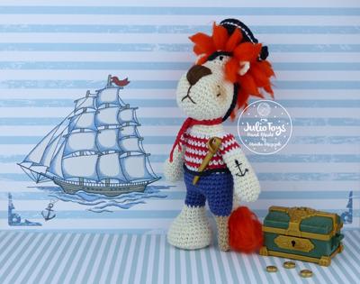 Saltee and her sail boat amigurumi pattern - Amigurumipatterns.net | 315x400