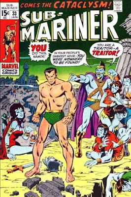 Sub-Mariner #33, traitor