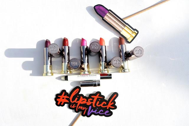 Urban Decay lipstick vault