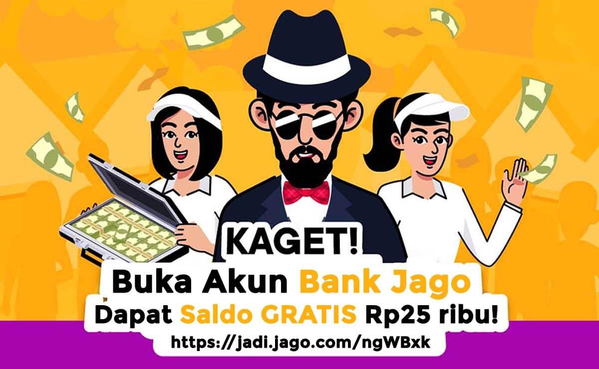 cara daftar akun dan link referral bank jago
