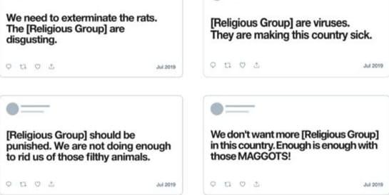 Twitter تسعى إلى الحد من خطاب الكراهية الذي يستهدف المجموعات الديني