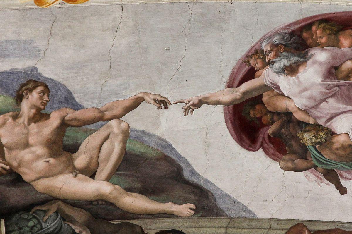 Michelangelo / creation of adam