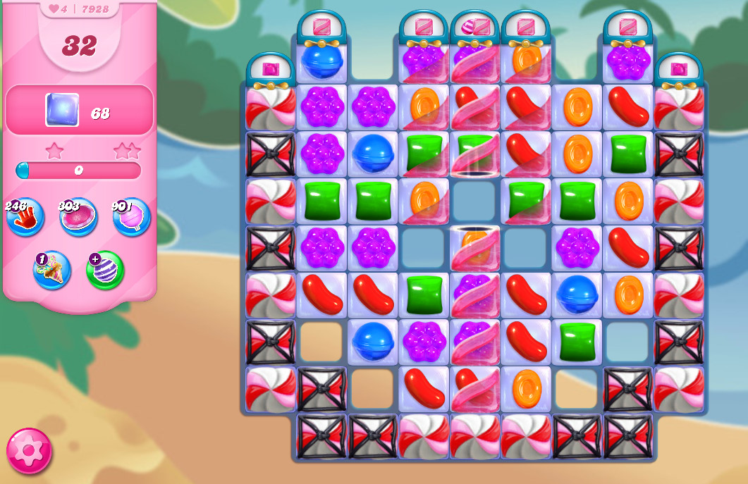 Candy Crush Saga level 7928