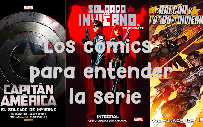 """4 cómics para sacarle todo el partido a la serie de """"Falcon y el Soldado de Invierno"""""""