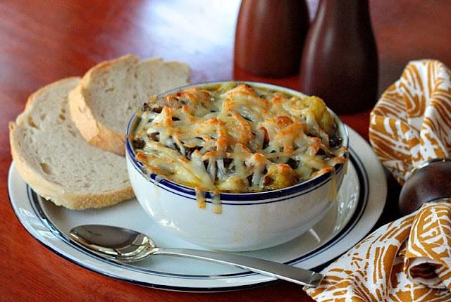 lentil soup gruyere cauliflower