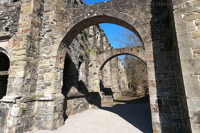 Abbaye de Villers Abbey Most instagrammable places in Belgium