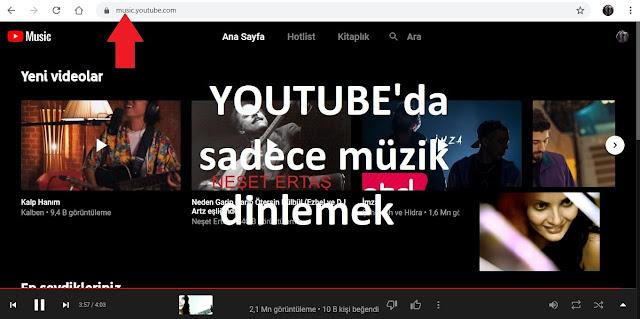 Youtube Music Nedir? Youtube'da Sadece Müzik Dinlemek! - YT Music Apk indir