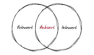 Diagram of the three personalities