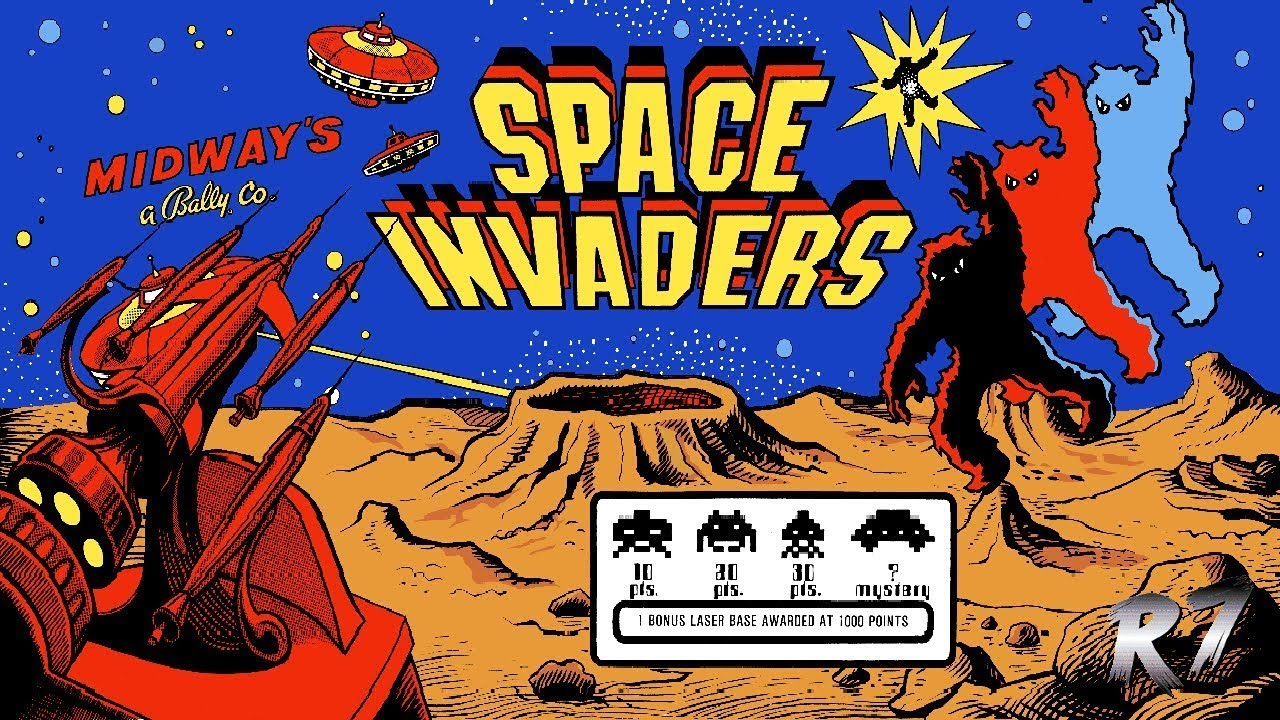 Space Invaders Arcade Dump