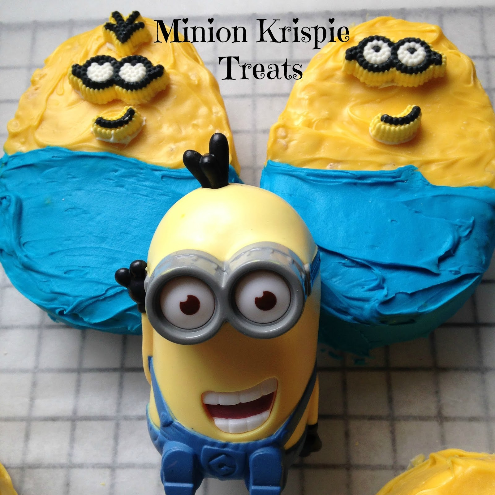 Turnips 2 Tangerines Minion Rice Krispie Treats