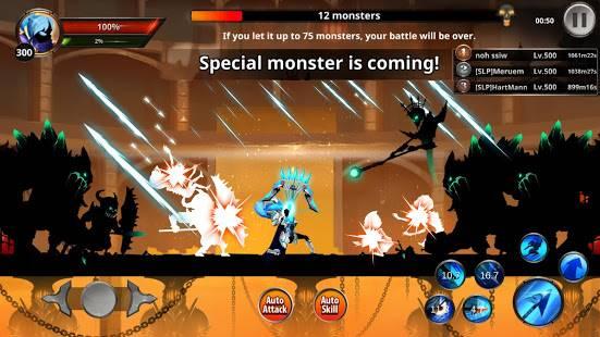 Descargar Stickman Legends MOD APK 2.4.65 Dinero ilimitado, Personajes Desbloqueados Gratis para Android 3