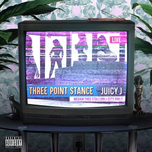 juicyJ three point stance