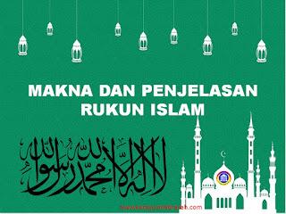 makna dan penjelasan rukun islam