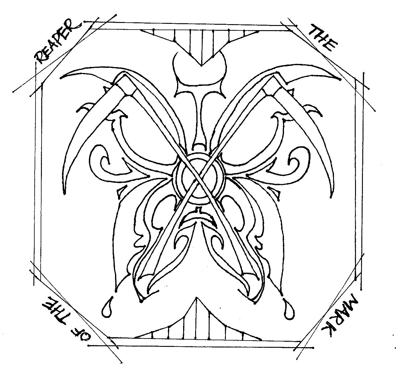 hades symbol coloring pages - photo#36