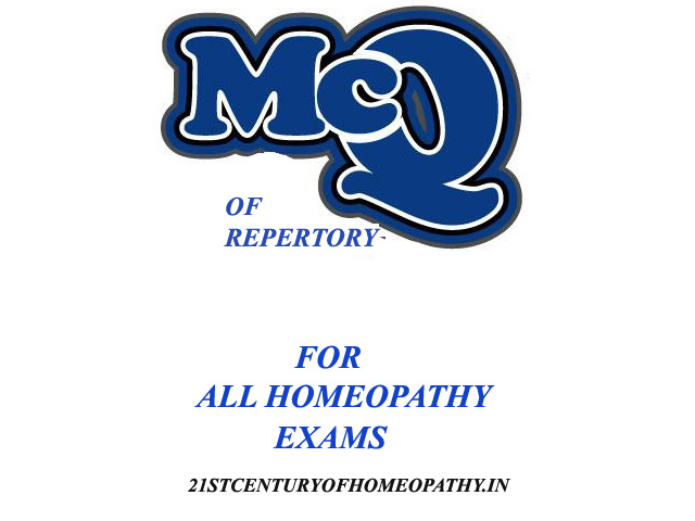 MCQs-repertory