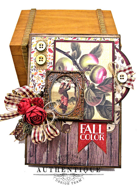 Authentique Pleasant Fall Card Folio by Kathy Clement Photo 01