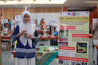2. Yudhita Dwirosa Dharmas Dari SMA Brawijaya Smart School Malang Jawa Timur Dengan Banpec (Banan Peel Edible Coating Berbasisi Pektin dari Limbah Kulit Pisang Untuk Meningkatkan Kulaitas Buah Lokal Indonesia