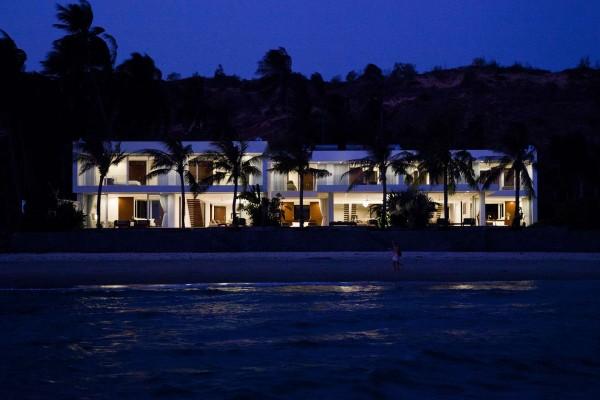 Desain Villa Modern