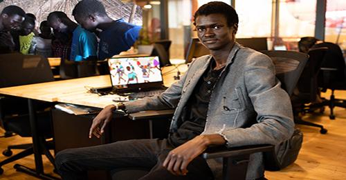 من لاجئ حرب الى مؤسس شركة العاب فيديو لنشر السلام