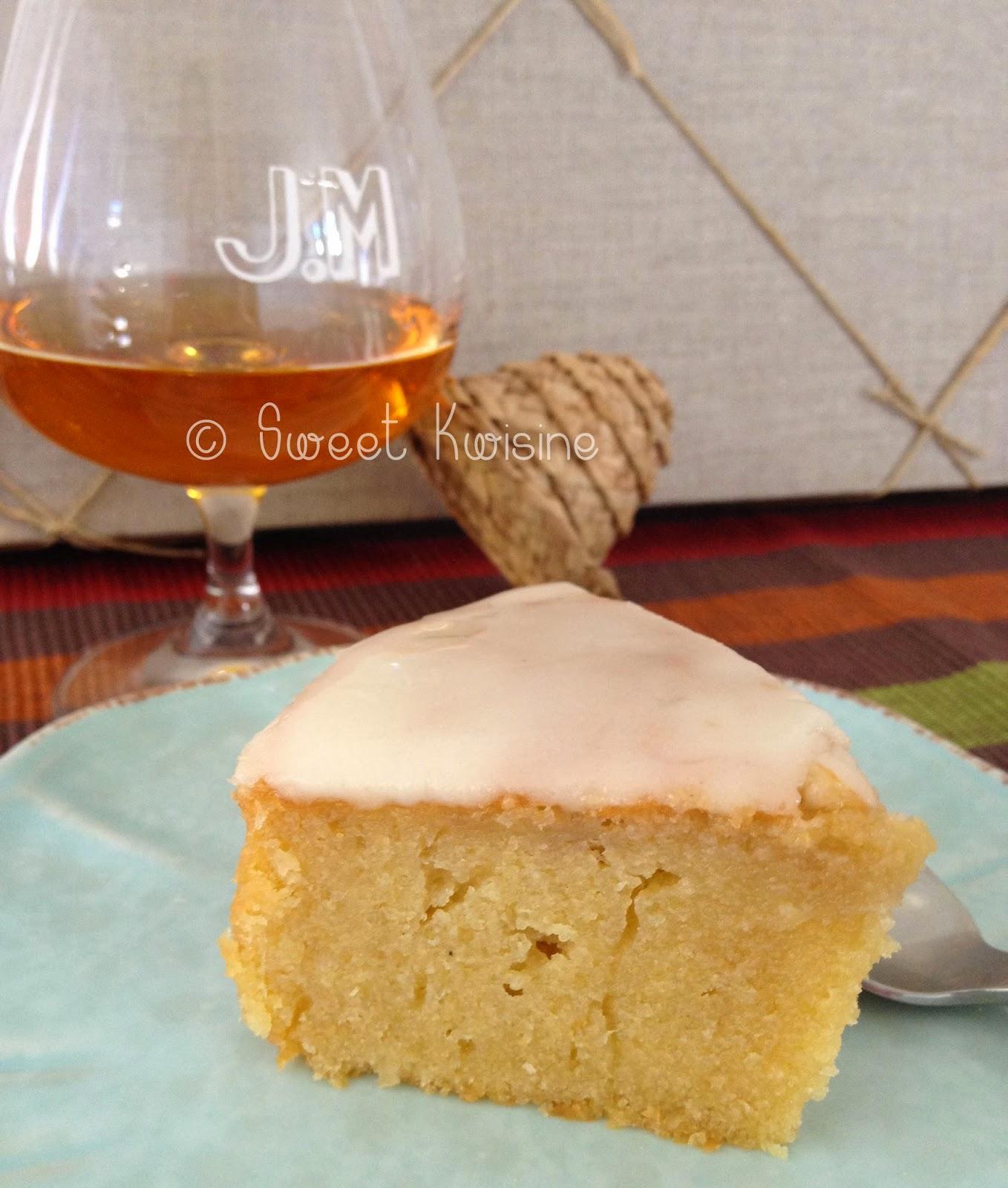 sweet kwisine, gateau, nantais, rhum, amandes, cuisine antillaise, rhum AOC, Martinique