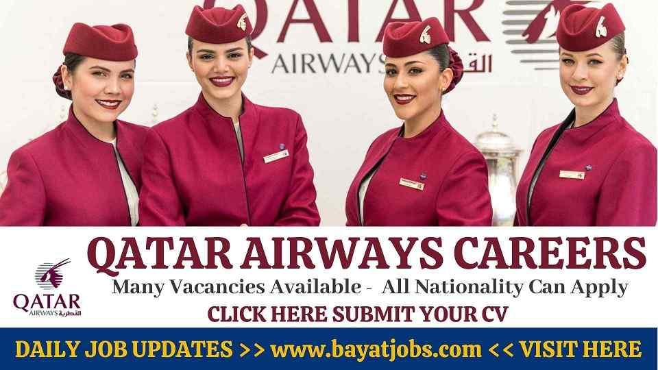 Qatar Airways Careers Latest Jobs Announced  2020