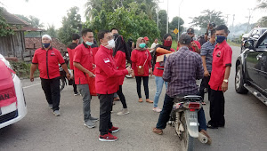 BPEK DPD PDI Perjuangan Provinsi Sumsel Berbagi, Warga : Semoga Barokah