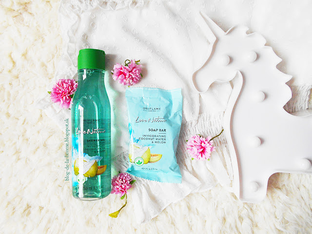 Oriflame Love Nature Coconut Water and Melon kolekcia