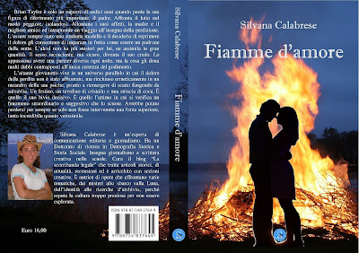 Copertina Fiamme d'amore di Silvana Calabrese