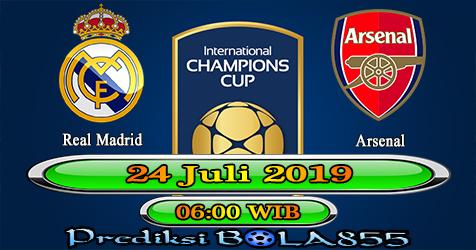 Prediksi Bola855 Real Madrid vs Arsenal 24 Juli 2019