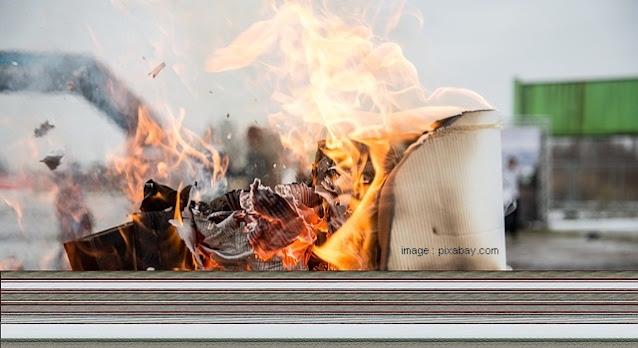 Anjuran Tidak Membakar Sampah di Sekitar Lingkungan Tempat Tinggal