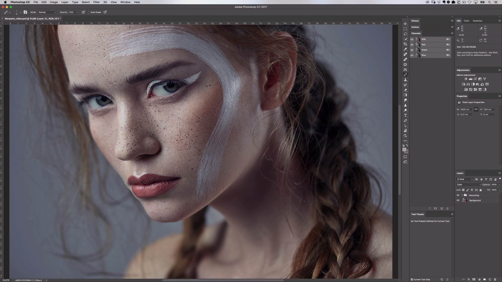 Photoshop - How to Clean Skin with the Clone Stamp Tool