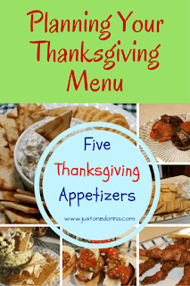 Five Appetizers for Thanksgiving