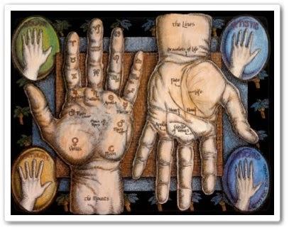 Гадание по руке - линии судьбы и жизни онлайн урок
