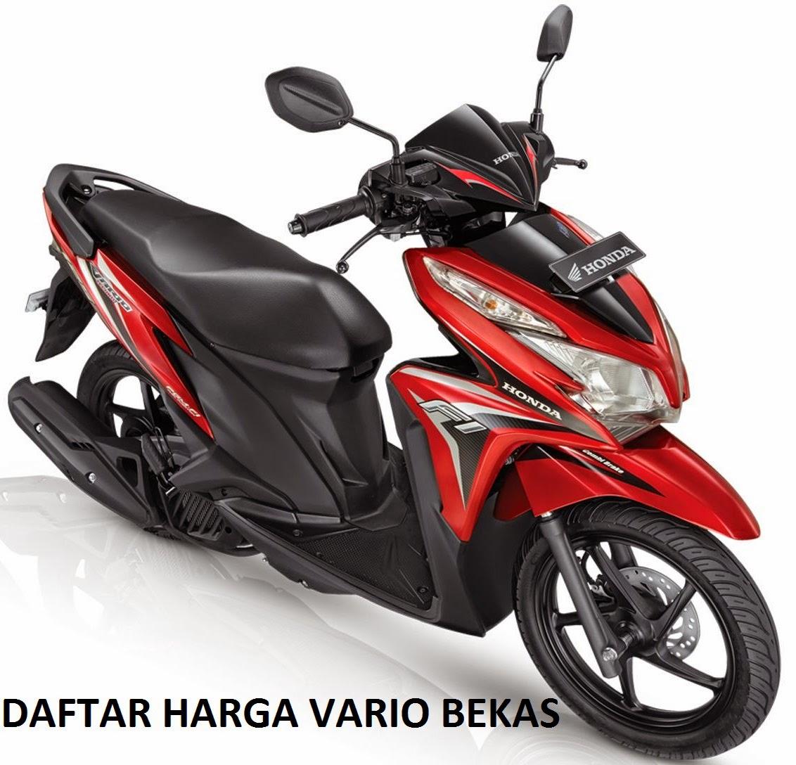 Nb Kondisi Motor Honda Vario Dengan Harga Standar Bekas Di Atas Dalam Normal Aksesoris Dan Onderdil Komplit Pajak Kendaraan Nomor Polisi