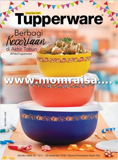 Katalog Tupperware Bulan Desember 2019 Terbaru Promo