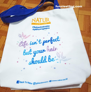 totebag natur shampoo tea tree oil