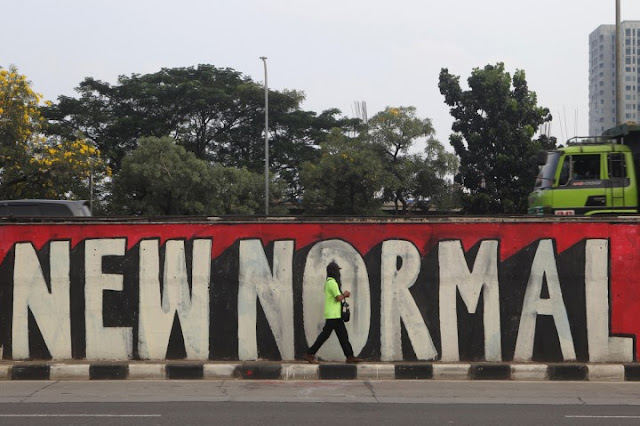 New Normal Awal Keruwetan Penanganan Corona