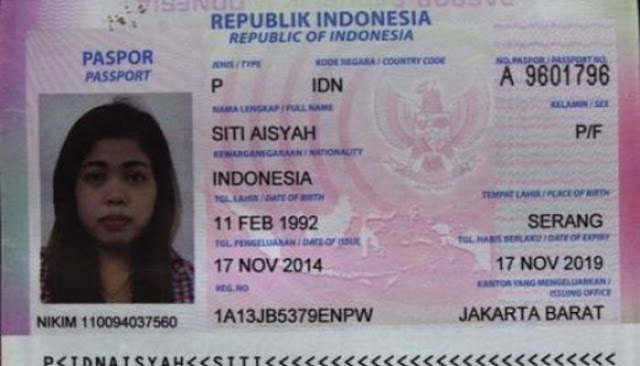 Inilah Sosok Siti Aisyah, WNI yang Diduga Bunuh Kakak Presiden Korut