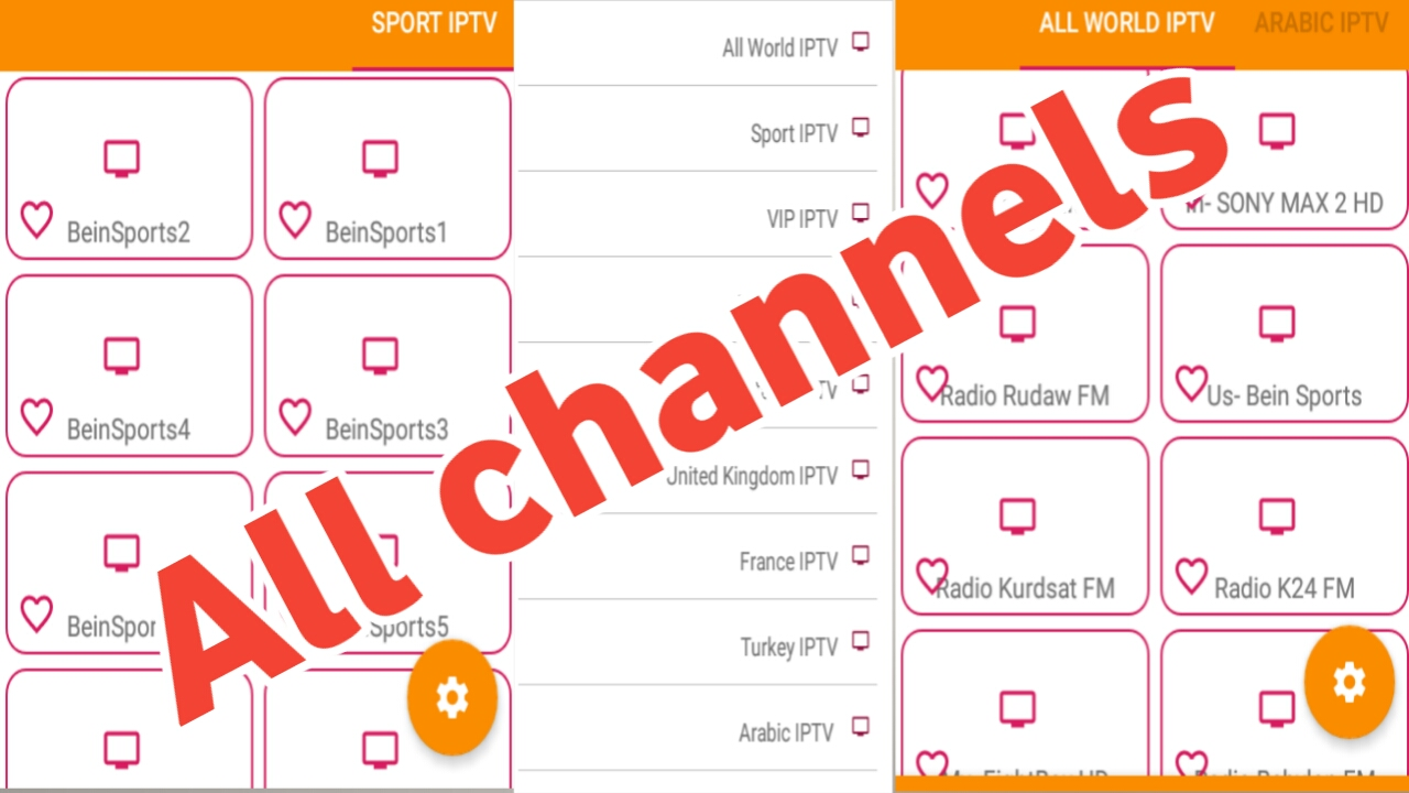 تطبيق خرافي لمشاهدة جميع القنوات العالمية والعربية المشفرة مجانا/تطبيق سوف تشكرني عليه