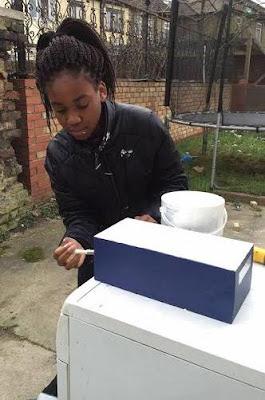 hand made Cathedral of 12 year old Nigerian British girl Princess Zina