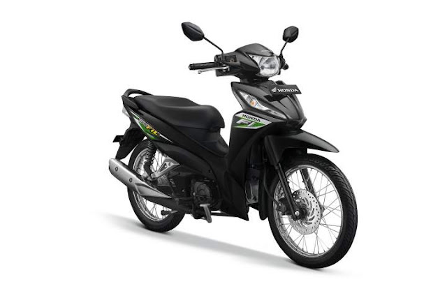 Warna New Honda Revo Neo Green