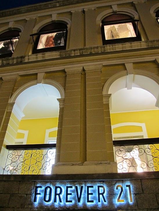 8572b88dc119 mylifestylenews  FOREVER 21 Opens in Sao Paulo Mall Macau