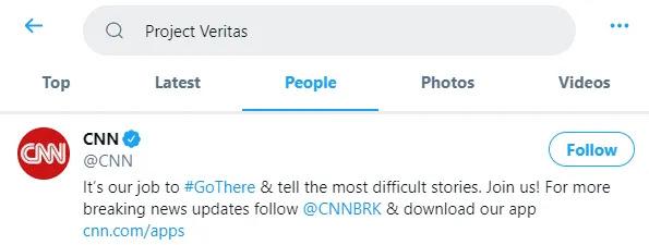 Dopo le rivelazioni bomba sulla CNN, Twitter bandisce James O'Keefe