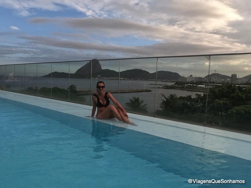Hotel com vista no Rio
