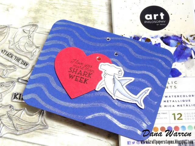 Dana Warren - Kraft Paper Stamps - Photoplay Paper
