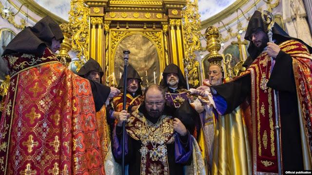 Primera liturgia del Patriarca Mashayan