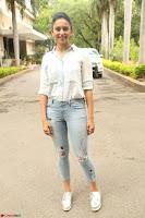 Rakul Preet Singh in Jeans and White Shirt At Jaya Janaki Nayaka le Logo Launch ~  Exclusive 054.JPG