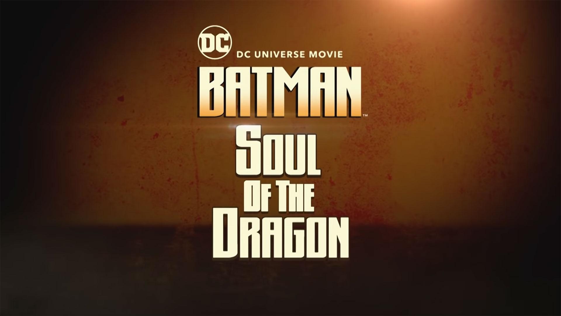 HD wallpaper Batman: Soul of the Dragon review