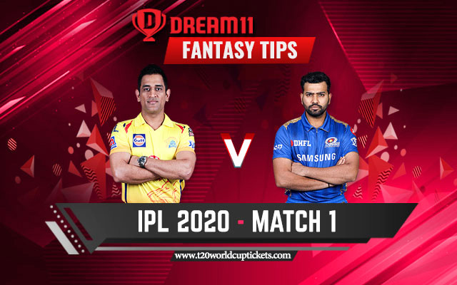 MI Vs CSK IPL 2020 Live Stream