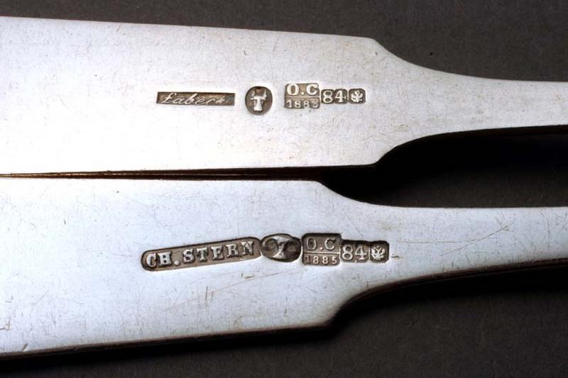 Antique Silver Cutlery Hallmarks Best 2000 Antique